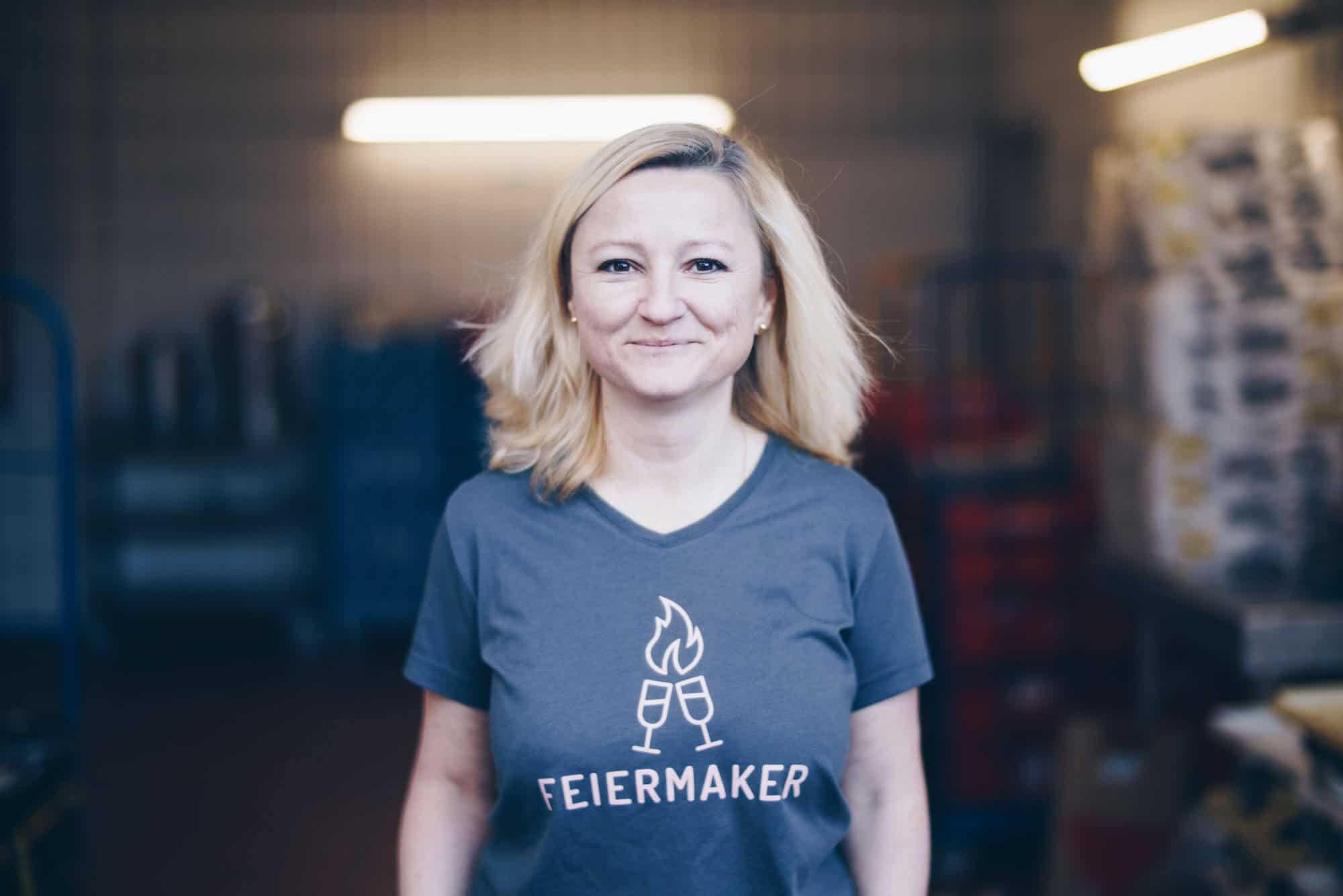 Mitarbeiterin von Geschirrverleih Tellermeer in Gießen