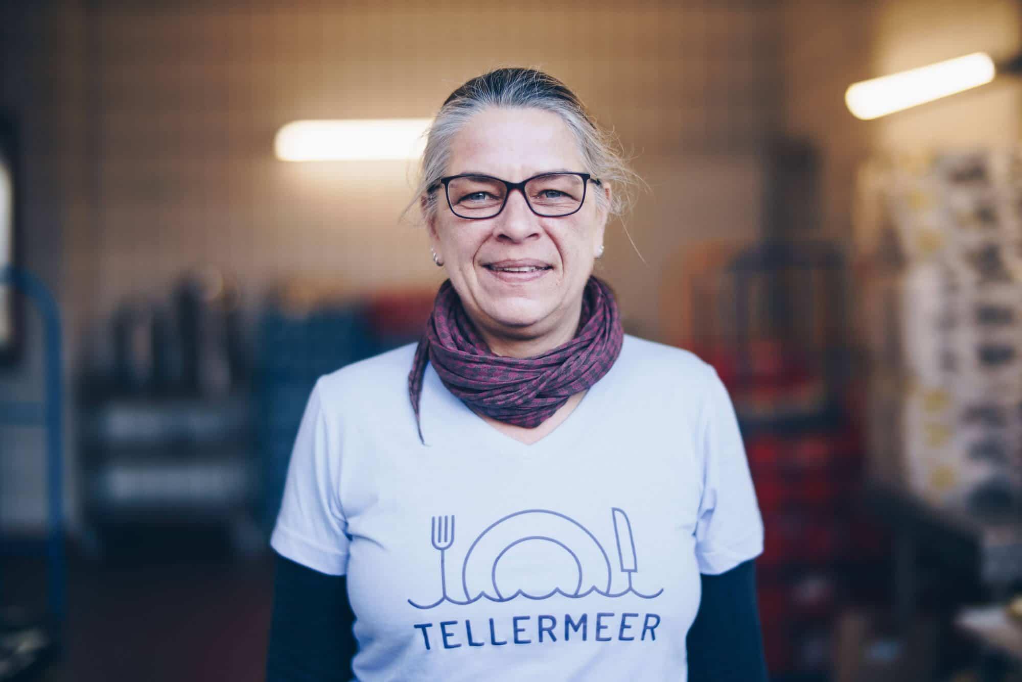 Mitarbeiterin von Tellermeer Geschirrverleih in Gießen
